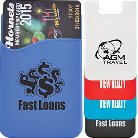 Promotional Products Australia - Silicone Phone Wallets