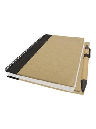 Promotional Product B6 ECO NOTEBOOK WITH PEN