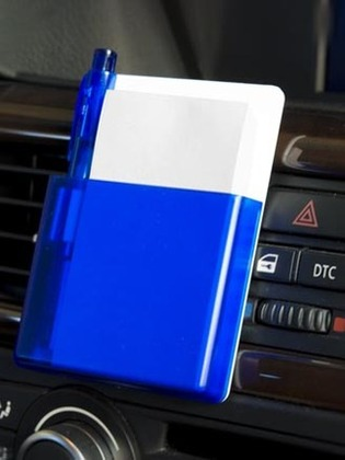 Promotional Product Car Memo Pad with Pen