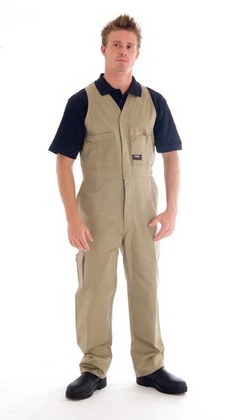 Promotional Product Cotton Drill Action Back Overall