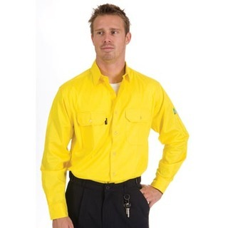 Promotional Product HiVis Cool-Breeze Work Shirt, L/S