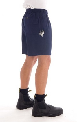 Promotional Product Drill elastic waist Shorts with tool pocket