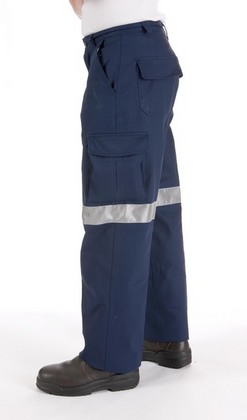 Promotional Product Lightweight Cool-Breeze Cotton Cargo Pants with 3M8910 R/Tape