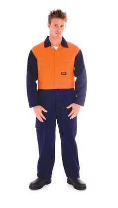 Promotional Product Patron Saint® Flame Retardant Two Tone Drill Overalls