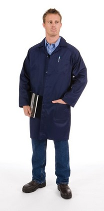 Promotional Product Polyester Cotton Dust Coat Lab Coat)