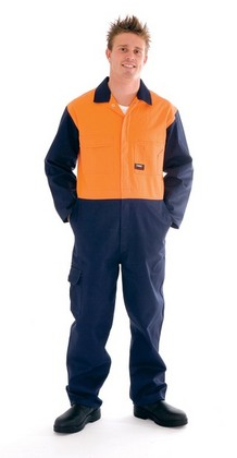 Promotional Product HiVis Two Tone Cotton Coverall