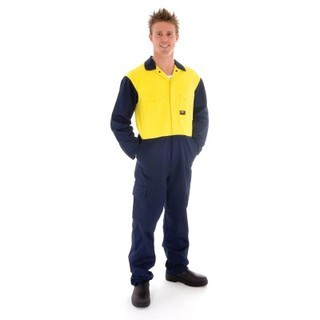 Promotional Product HiVis Cool-Breeze Two Tone Light Weight Cotton Coverall