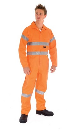 Promotional Product HiVis Cotton Coverall with 3M8910 R/Tape