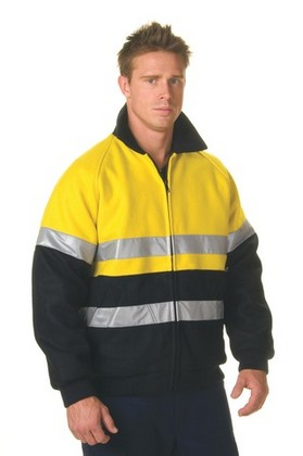 Promotional Product HiVis Two Tone Bluey Jacket 3M8910 R/Tape