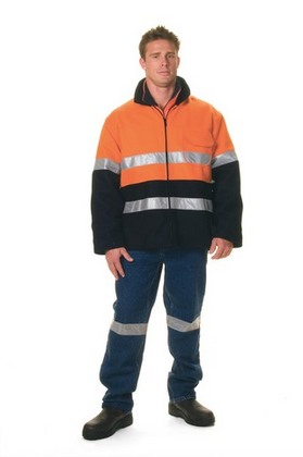 Promotional Product HiVis Two Tone Bluey Coat With 3M8910 R/Tape