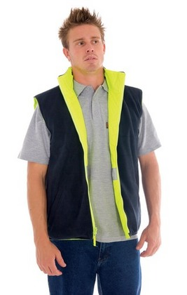 Promotional Product HiVis Reversible Safety Vest With 3M8906 R/Tape