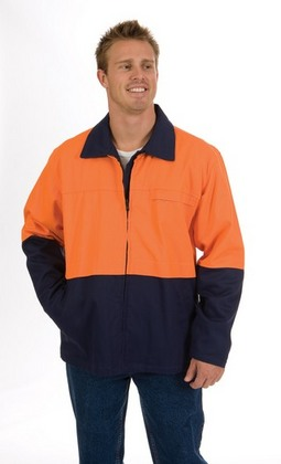 Promotional Product HiVis Two Tone Protector Drill Jacket