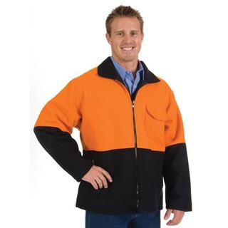 Promotional Product HiVis Two Tone Bluey Coat
