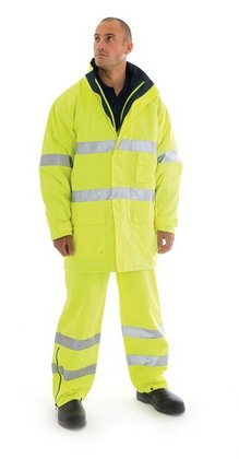 Promotional Product HiVis Breathable & Anti-Static Jacket