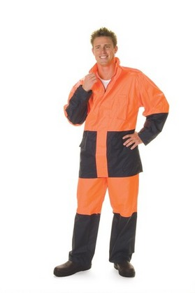 Promotional Product HiVis Two Tone Light Weight Rain Pant