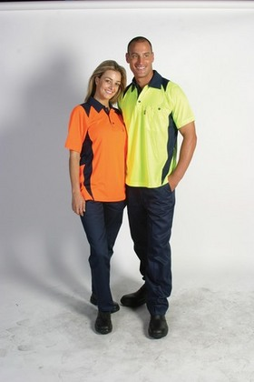 Promotional Product HiVis Action Polo Shirt, S/S