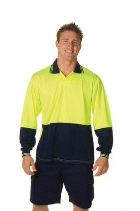 Promotional Product HiVis Food Industry Polo, L/S