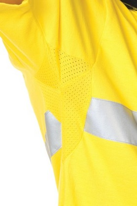 Promotional Product HiVis Cool-Breeze Cotton Jersey Polo with 3M8906 R/Tape, S/S
