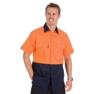 Promotional Product HiVis 3 Way Cool-Breeze Cotton Shirt, S/S