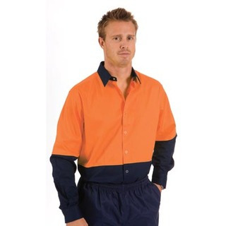Promotional Product HiVis Food Industry Cool-Breeze Cotton Shirt, L/S
