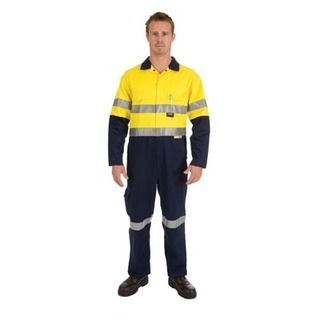 Promotional Product HiVis Cool-Breeze Two Tone Lightweight Cotton Coverall with 3M8910 R/Tape