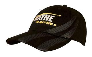 Promotional Product Brushed Heavy  Cotton Cap with Tyre Tracks