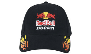 Promotional Product Brushed Heavy Cotton Cap with Sonic Weld Flames