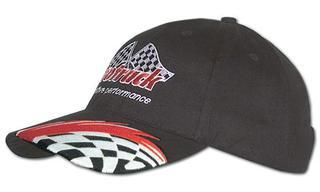 Promotional Product Brushed Cotton Cap with Swoosh and Check Embroidery