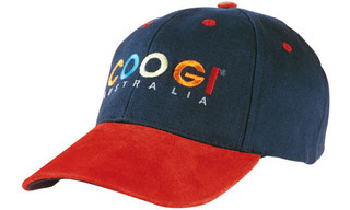 Promotional Product Brushed Heavy  Cotton Cap with Suede Peak