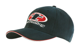 Promotional Product Brushed Heavy  Cotton Cap with Double  Sandwich Peak
