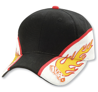 Promotional Product Flaming Dice Cap
