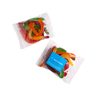 Promotional Product 100gm Snakes in cello bag