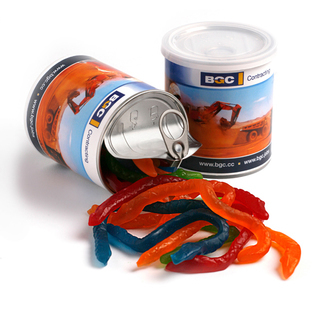 Promotional Product 200gm Snakes in pull can