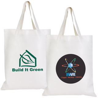 Promotional Product Short Handle Bamboo Tote Bag