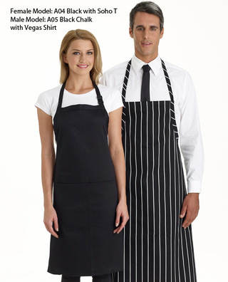 Promotional Product Bib Apron Plain with Pocket