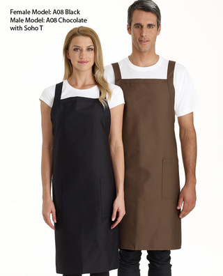 Promotional Product Cross Over Bib Apron