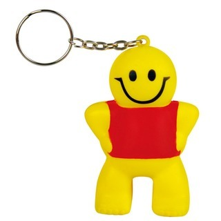 Promotional Product Anti Stress Little Man Keyring