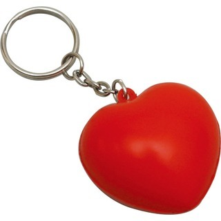Promotional Product Anti Stress Heart Keyring