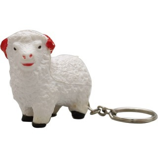 Promotional Product Anti Stress Sheep Keyring