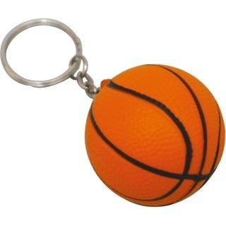 Promotional Product Anti Stress Basketball Keyring