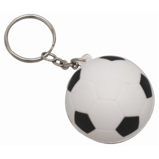 Promotional Product Anti Stress Soccerball Keyring
