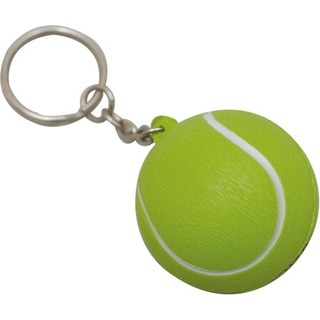 Promotional Product Anti Stress Tennis Ball Keyring