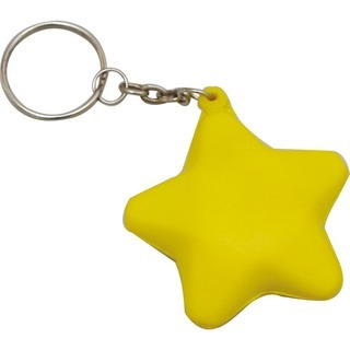 Promotional Product Anti Stress Star Keyring