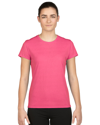 Promotional Product Polyester Semi-fitted Ladies' T-Shirt