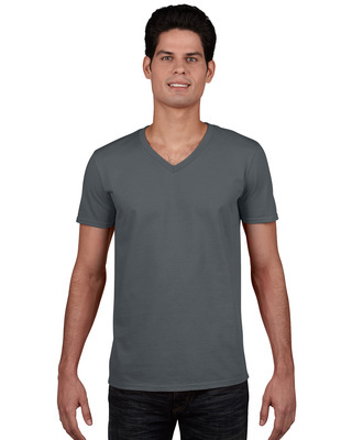 Promotional Product Euro Fit Adult V-Neck T-Shirt