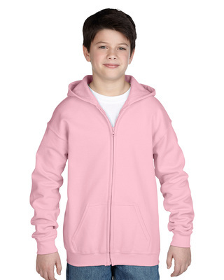 Promotional Product  Classic Fit Youth Full Zip Hooded Sweatshirt