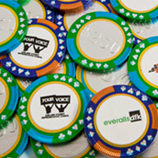 Promotional Product Chocolate Poker Chips Bulk