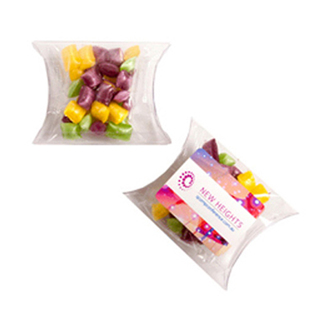 Promotional Product 20G Corporate Coloured Humbugs in Pillow Pack