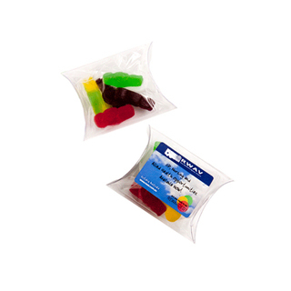 Promotional Product 20gm Jelly Babies in Pillow Pack