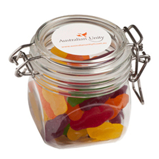 Promotional Product 170gm Jelly Babies in Canister